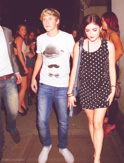Niall Horan and Lucy Hale as requested by narryinmyheart