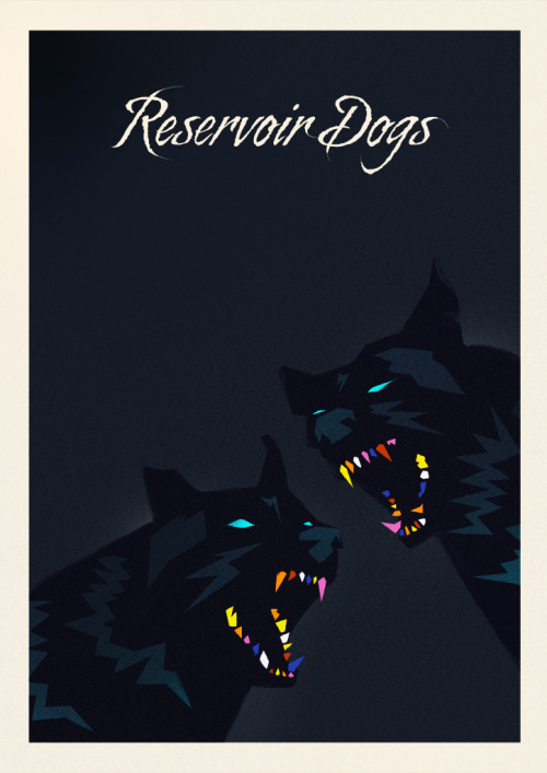 minimalmovieposters:  Reservoir Dogs by Rocco Malatesta
