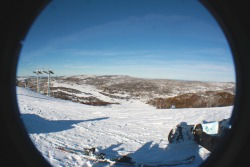 Smiggins Holes, Perisher.Taken using Canon mk II 15-55m and zeikos fisheye attachment  ©Emily Dafter