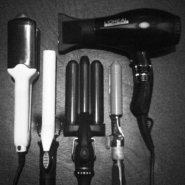 russelchristian:  Ready For Battle. I will fight you with my blowdrier.