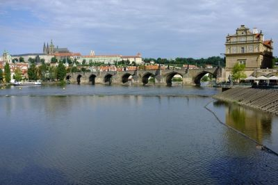 Prague - Medieval, pastel, bridges