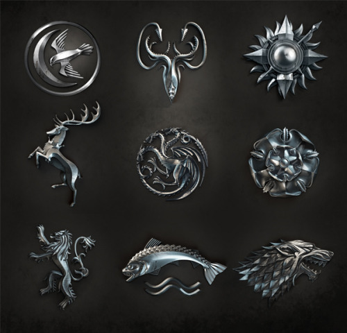 cedricmanrique:  Game of Thrones Emblem!