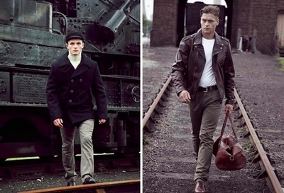 Schott NYC Collection Fall / Winter 2012 | Anchor Division
