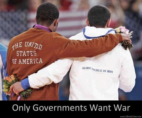 Only Governments want war