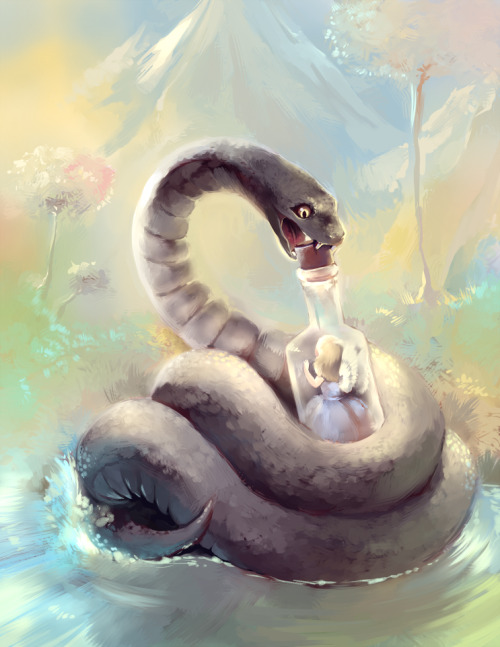 Snake by *purplekecleon —-x—- More: | Snakes | Random |