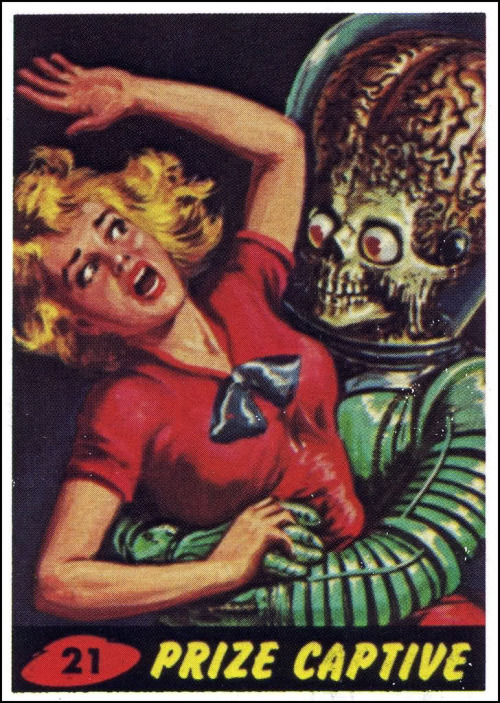 Phase 2: Invasion & Attack … see more Mars Attacks, Vintage Trade Cards, 1962