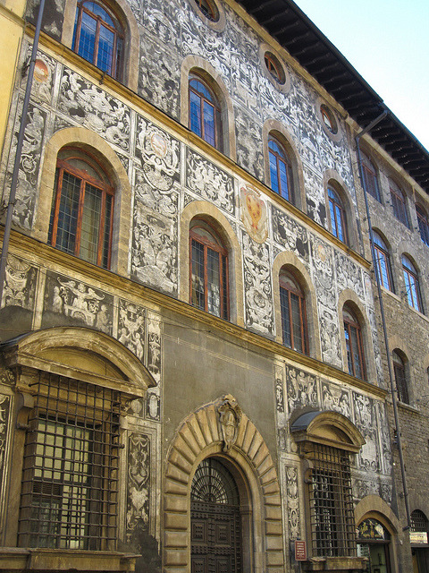 | ♕ |  Facade of Palazzo di Cappello - Florence  | by © ClydeHouse