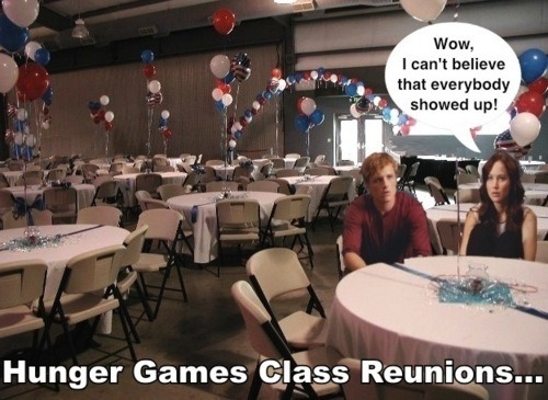 The Hunger Games Class Reunion?