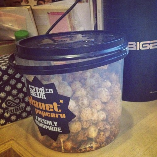 #kimchi #popcorn #seriously #yummy #delicious #amazing #sweet #baby #dangerous #omg (Taken with Instagram)