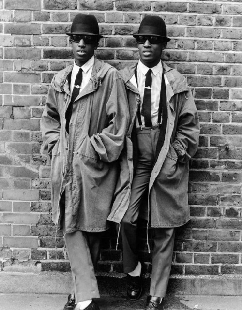 The Islington Twins, Chuka and Dubem Okonkwo  photo by Janette Beckman, 1979