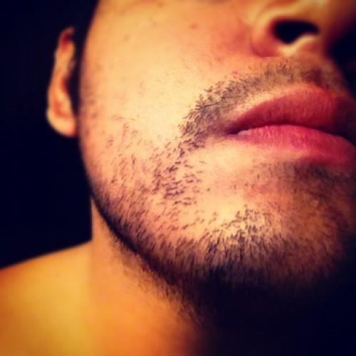 It's been good. But now I have to shave you off for work.  (Taken with Instagram at Nefty's Place)