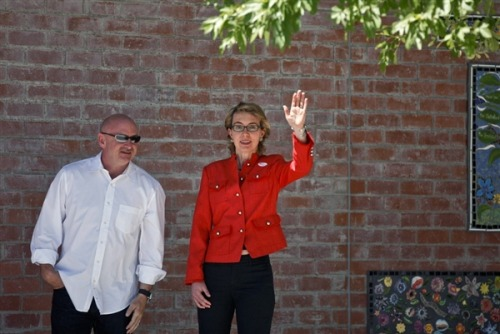 "'Home for good': Gabrielle Giffords and husband move back to Tucson (Photo: Samantha Sais / Reuters, file) PHOENIX - Former Arizona Representative Gabrielle Giffords, who was gravely wounded in a mass shooting that killed six and injured 12 others, moved back home to Tucson on Sunday, her husband said. ""Moving back to Tucson today,"" tweeted her husband, retired astronaut Mark Kelly. ""Gabby has been waiting for this day for a long time. Read the complete story."