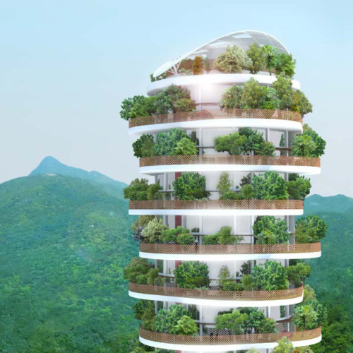 The Canopy Tower @ Hong Kong(via Fancy)