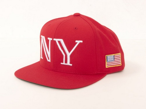 upnorthtrips:  COMMISSARY | 40oz Red Balmain inspired 'NY' Snapback Drops Today // 12pm - 12am Only //  www.40ozNY.com
