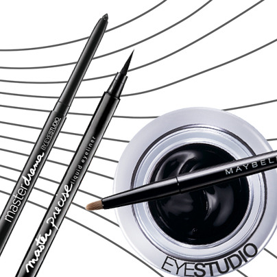 When it comes to eyeliner, what's your pleasure? Liquid? Pencil? Gel? #BeautyTalk