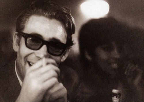Peter O'Toole as photographed by Sammy Davis Jr. (from Wonderful Photographs of Famous People Snapped By Their Famous Friends)
