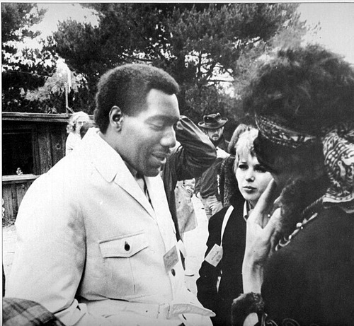tickettoridevintage:  Otis Redding and Jimi Hendrix. (Via)