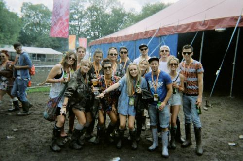 All of us together at Parklife!