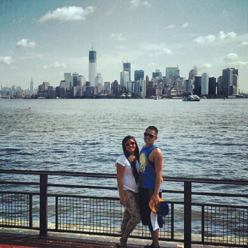 New York city (Taken with Instagram at Liberty State Park Marina)