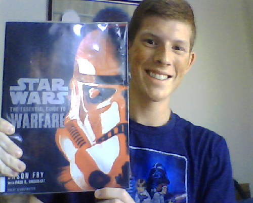 Found this little gem at my local library. Being a Star Wars AND a military nerd, I'm practically in heaven while reading this.