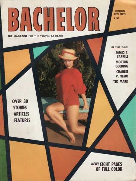 Bachelor, September 1961 Source: Stag Mags