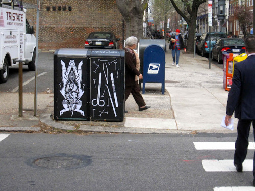 Joe Boruchow: wheatpaste art in Philadelphia (via Joe Boruchow)