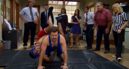 Ron Swanson Is Officially The Best Thing Going On NBC Now