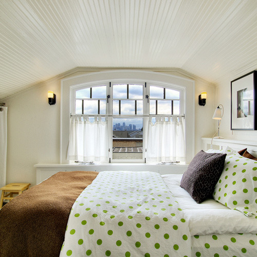 myidealhome:  green dots (via Isabella & Max Rooms: Character & Color In Spades)