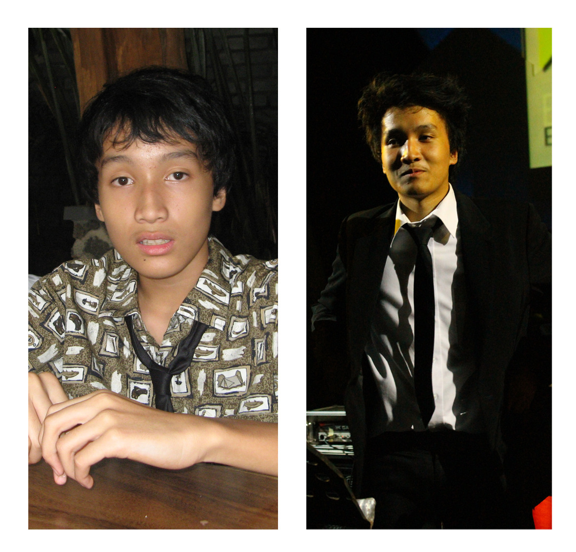 Reyhan Left: 2008Right: 2012