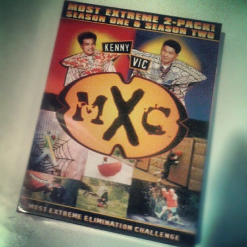 Yessssss! MXC dvds came in the mail today! Getting ready to to laugh so hard I can't breathe for the next 514 minutes. (Taken with Instagram)
