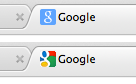 "Google FINALLY going back to the older favicon design. Does anyone else think that the multicolored one was ugly as sin? The ""g"" wasn't even legible. How the hell did that one last this long?"