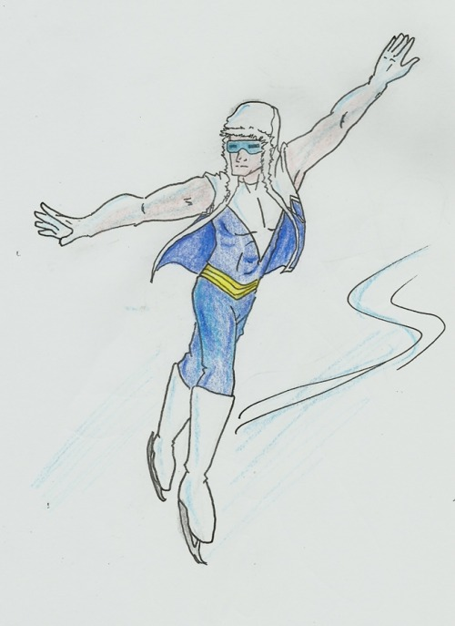 touchofgrey37:  biacomcafe:   onicell replied to your post: . iceskater!Captain Cold? The first request! Don't mind the huge arms  GWEN HEY GWEN …does your skating AU involve this guy at any point?   ………Well it does now! (in all seriousness, not sure either of us understand Flash canon too well, may need yer help on that one)