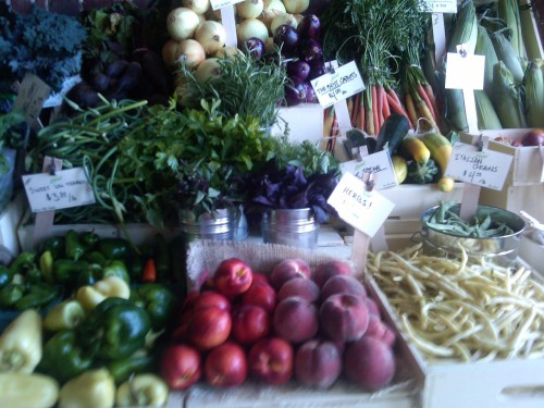 Organic Produce in Brunswick, Maine