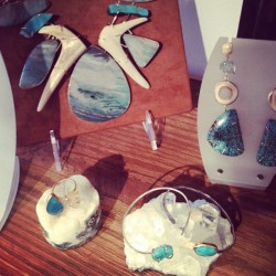 Beach inspired pieces by Melissa Joy Manning. #resort ML (Taken with Instagram)