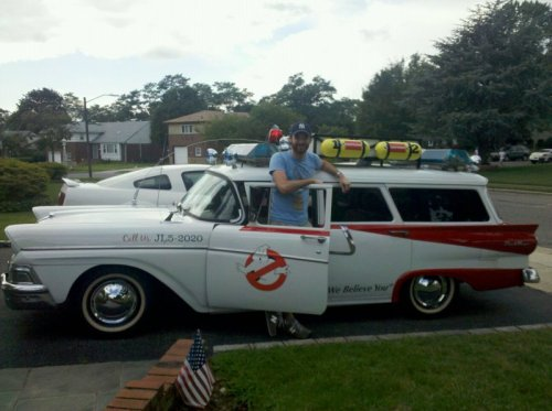 Ghostbusters Car IRL Can you ghost ride the whip with this?