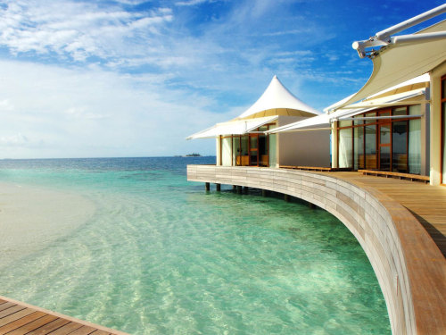 Movie-Inspired Travel | W Hotel, Maldives
