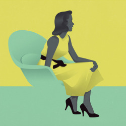designaemporter:  jack hughes  illustration, yellow,green