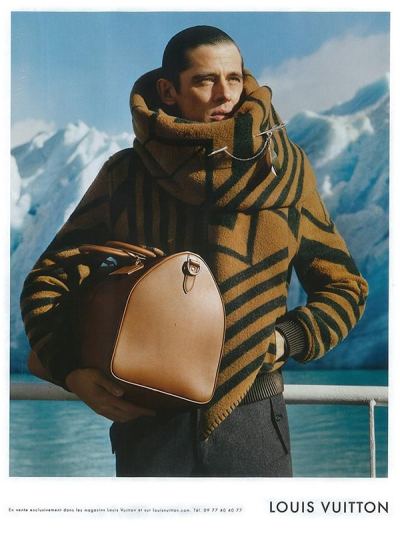 When turtlenecks attack.  Louis Vuitton. Print ad, Fall 2012.