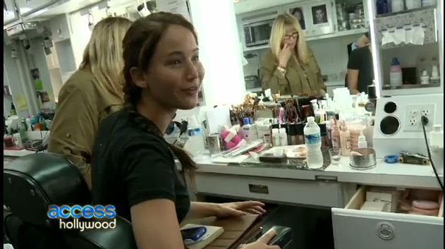 Access Hollywood has an exclusive first look at a new behind-the-scenes clip from THE HUNGER GAMES on Blu-ray& DVD, featuring stars Jennifer Lawrence, Alexander Ludwig and Jacqueline Emerson discussing how working long hours on the movie helped create a special bond for the cast.