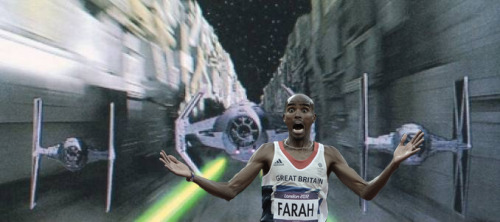 Mo Farah running away from things blog is fantastic, guaranteed to brighten your day.