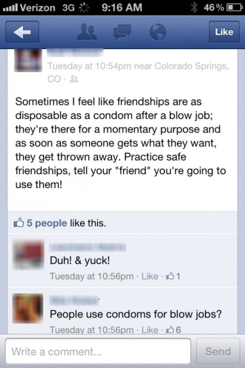 Screencap: 'Friendships - You're Doing It Wrong'