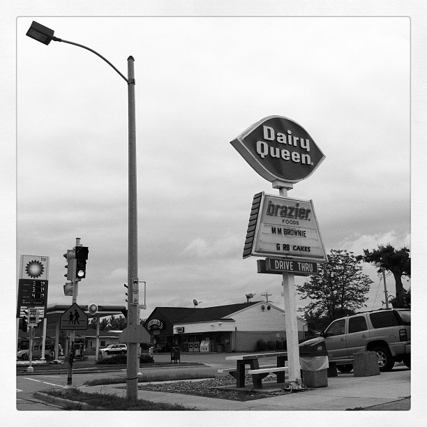 Dairy Queen in Janestown  (Taken with Instagram)