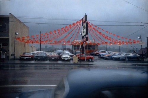 Used Car Lot, 1970 Fred Herzog