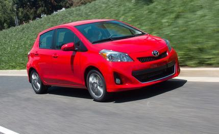 2012 Toyota Yaris Hatchback Automatic Tested: Making the case for stick shifts. via Car and Driver