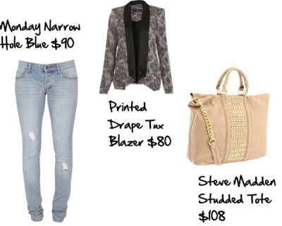 Get the Look: Khloe Kardashian by threegirlsandamic featuring low rise skinny jeans