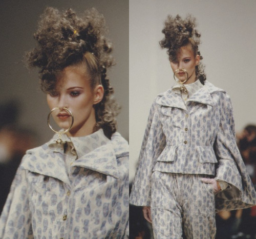 Kate Moss at Vivienne Westwood AW93
