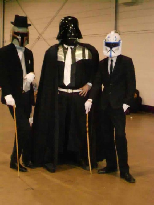 Fancy Star Wars Characters I find your lack of poise disturbing.