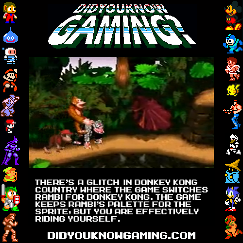 Donkey Kong Country. Video: http://www.youtube.com/watch?v=sROBAQEuwFI  Submitted by DrZaius.