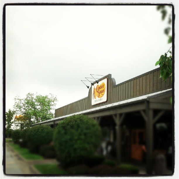 Lunchtime! #chifest12  (Taken with Instagram at Cracker Barrel)