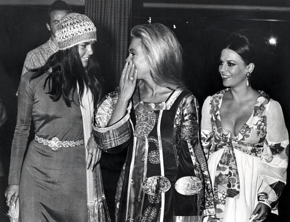 rachelzoe:  Monday Muse: Ali MacGraw Pictured here with Dyan Cannon and Natalie Wood—I mean, those dresses…could you even assemble a more glam posse of three?! xoRZ